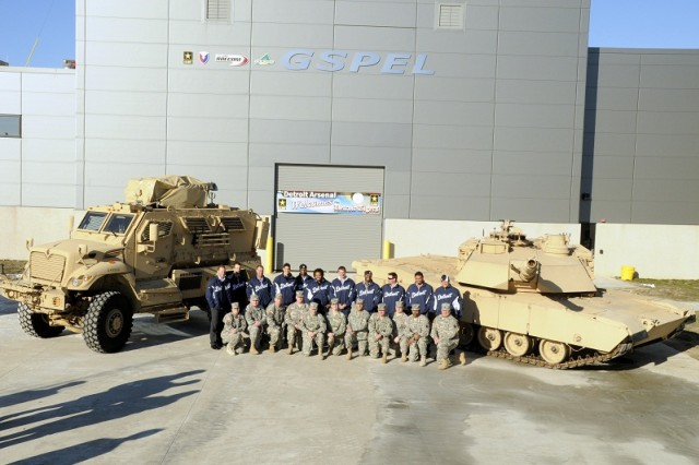 2013 Tigers Winter Caravan at the Detroit Arsenal.