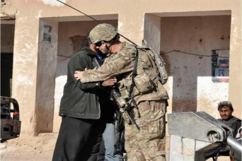 The U.S. Security Advisory Team members are learning about the Afghan culture and overcoming language barriers as they help the Afghan police force become a self-sustained police force within the Chorah district of Afghanistan.