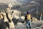 ANSF lead counter insurgency mission, find IED