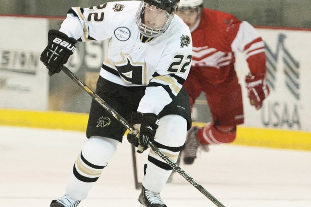 Freshman forward Thane Heller scored twice to help Army to a 4-1 victory over the Royal Military College of Canada Jan. 26 at Tate Rink.