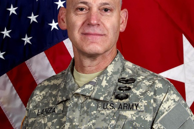 Pictured is Maj. Gen. Stephen Lanza, 7th Infantry Division commanding general.