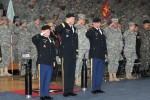 2ID introduces new top enlisted Soldier, says farewell to another
