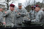 Chief of Staff of the Army, Gen. Raymond T. Odierno visits the 82nd Airborne Division