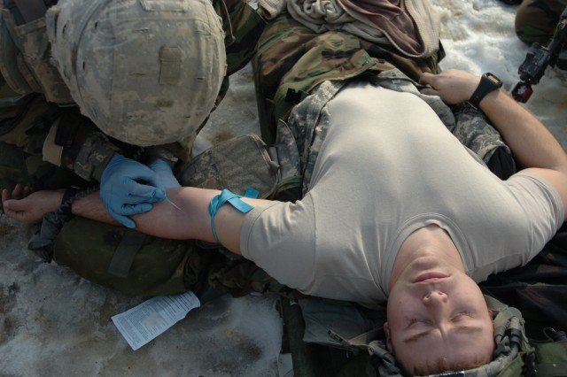 6-37 FA conducts medical evacuation training
