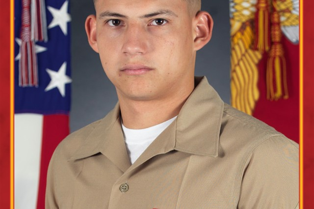 Lance Cpl. Amilcar Marroquinsalinas has been named Marine of the year for Henderson Hall on Joint Base Myer-Henderson Hall (Courtesy Photo).