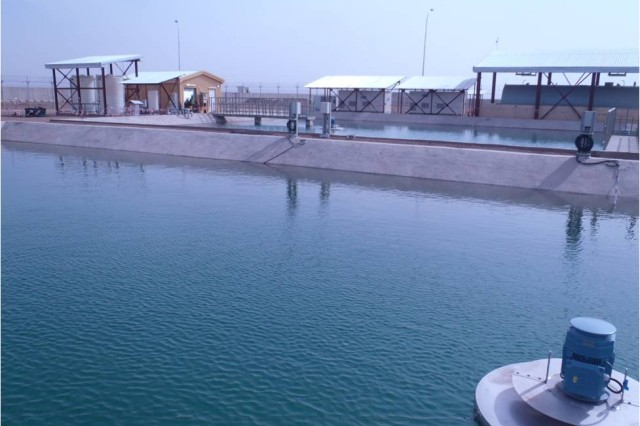 New wastewater treatment plant promotes public health at FOB Shindand