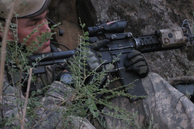 Before former Staff Sgt. Clinton L. Romesha and his fellow Bravo Troop, 3rd Squadron, 61st Cavalry Regiment Soldiers arrived at Combat Outpost Keating, nestled in the Hindu Kush mountains along the Afghanistan-Pakistan border, they were warned that it was dangerous, and to expect a lot of enemy engagement. They frequently received reports that insurgents planned to overrun the outpost, and on Oct. 3, 2009, those reports became reality.