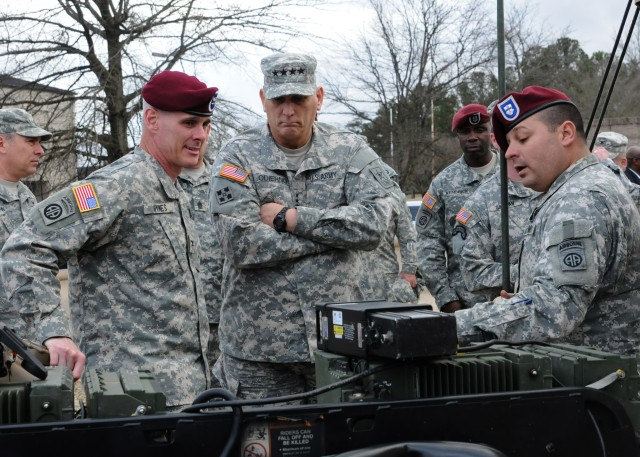 Odierno visits 2nd Brigade Combat Team, 82nd Airborne Division