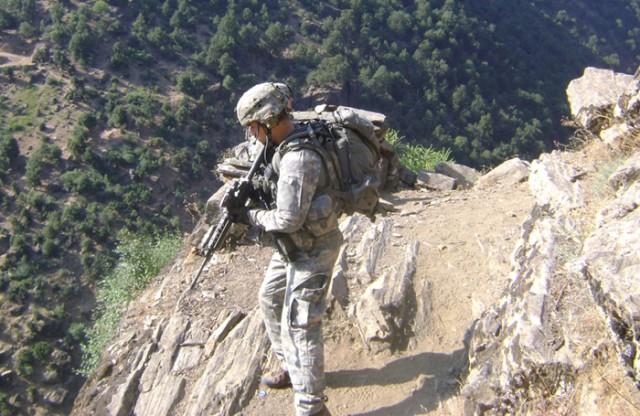Romesha in Afghan Mtns