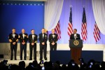 Senior enlisted advisers at Commander-in-Chief's Inaugural Ball