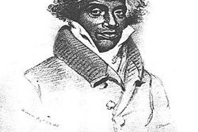Abdu-l-Rahman Ibrahim Ibn Sori also known as Abdul-Rahman was an educated African prince who was brought to America via slavery in the late 1700s. He lobbied for his freedom and was released in 1828 and made his way back to Africa, settling in Liberia.