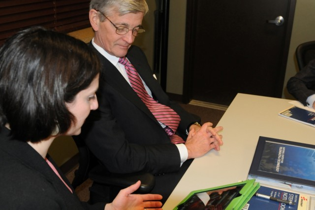 Secretary of the Army visits National Center for Telehealth and Technology