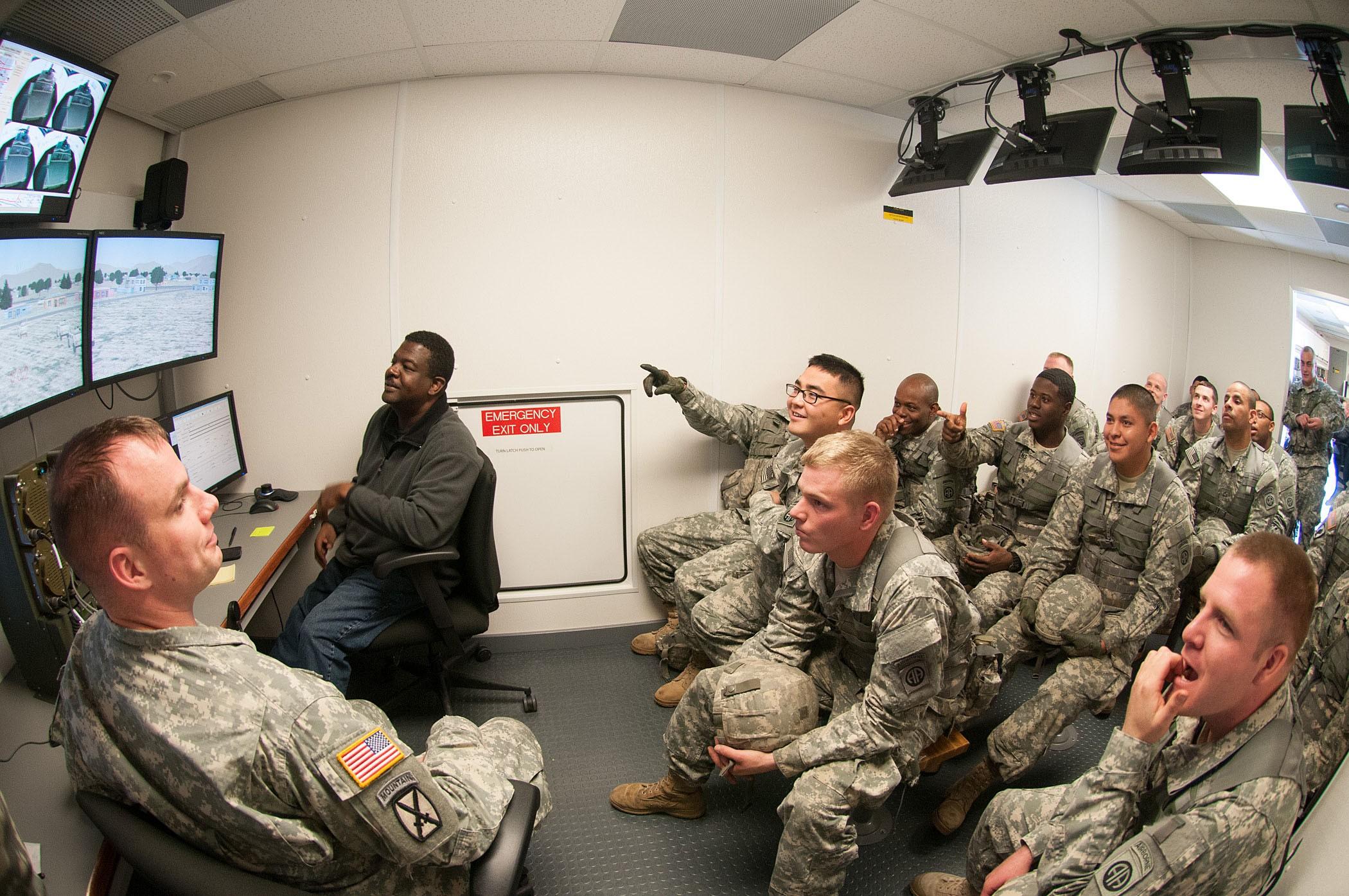 Virtual convoy simulator maximizes training time   Article ...