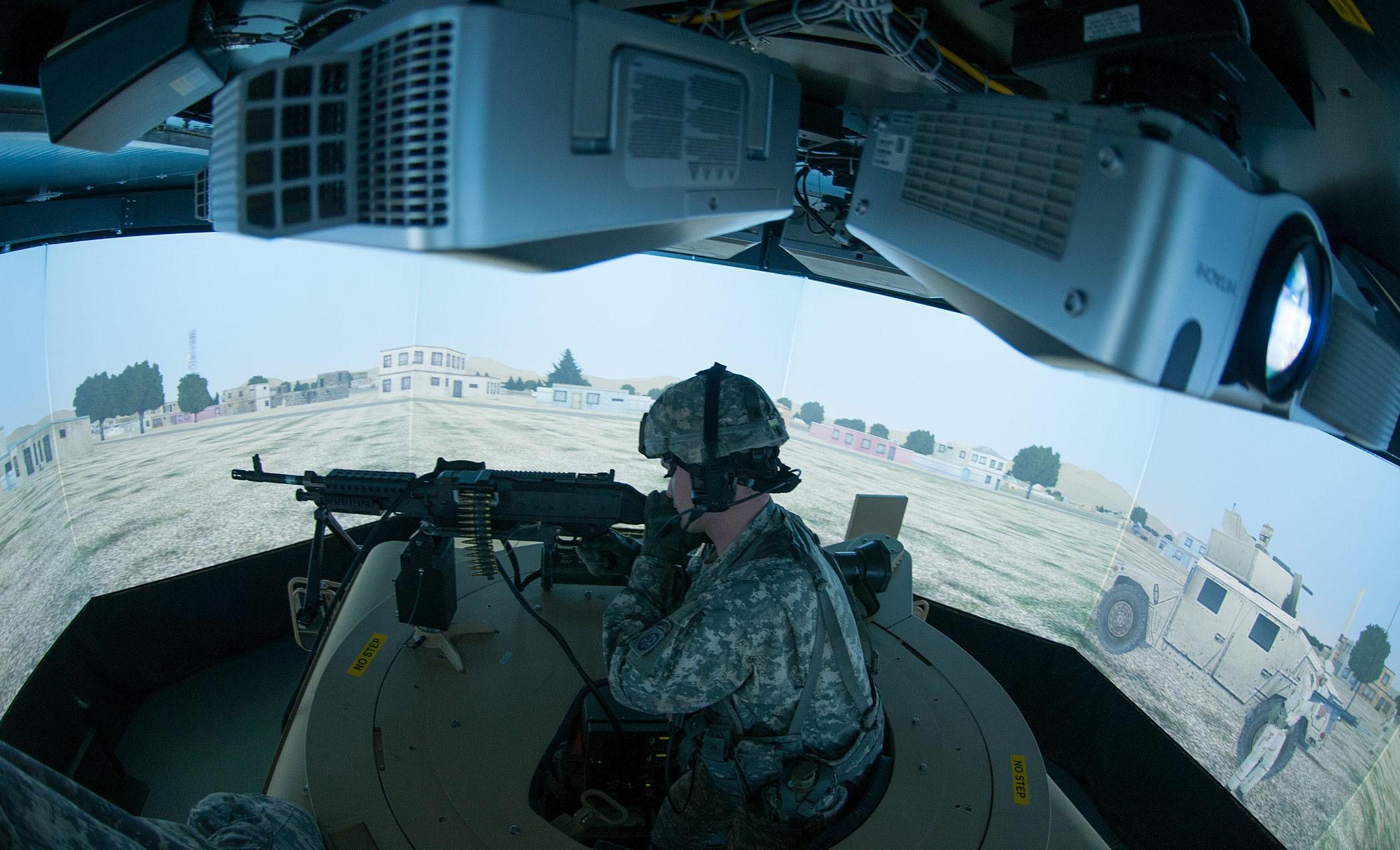 Virtual Convoy Simulator Maximizes Training Time Article
