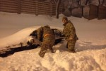 National Guard troops in New England respond to massive blizzard