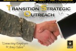 U.S. Army Transition Strategic Outreach (TSO) grahphic panel