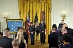 Benediction at the Medal of Honor Ceremony