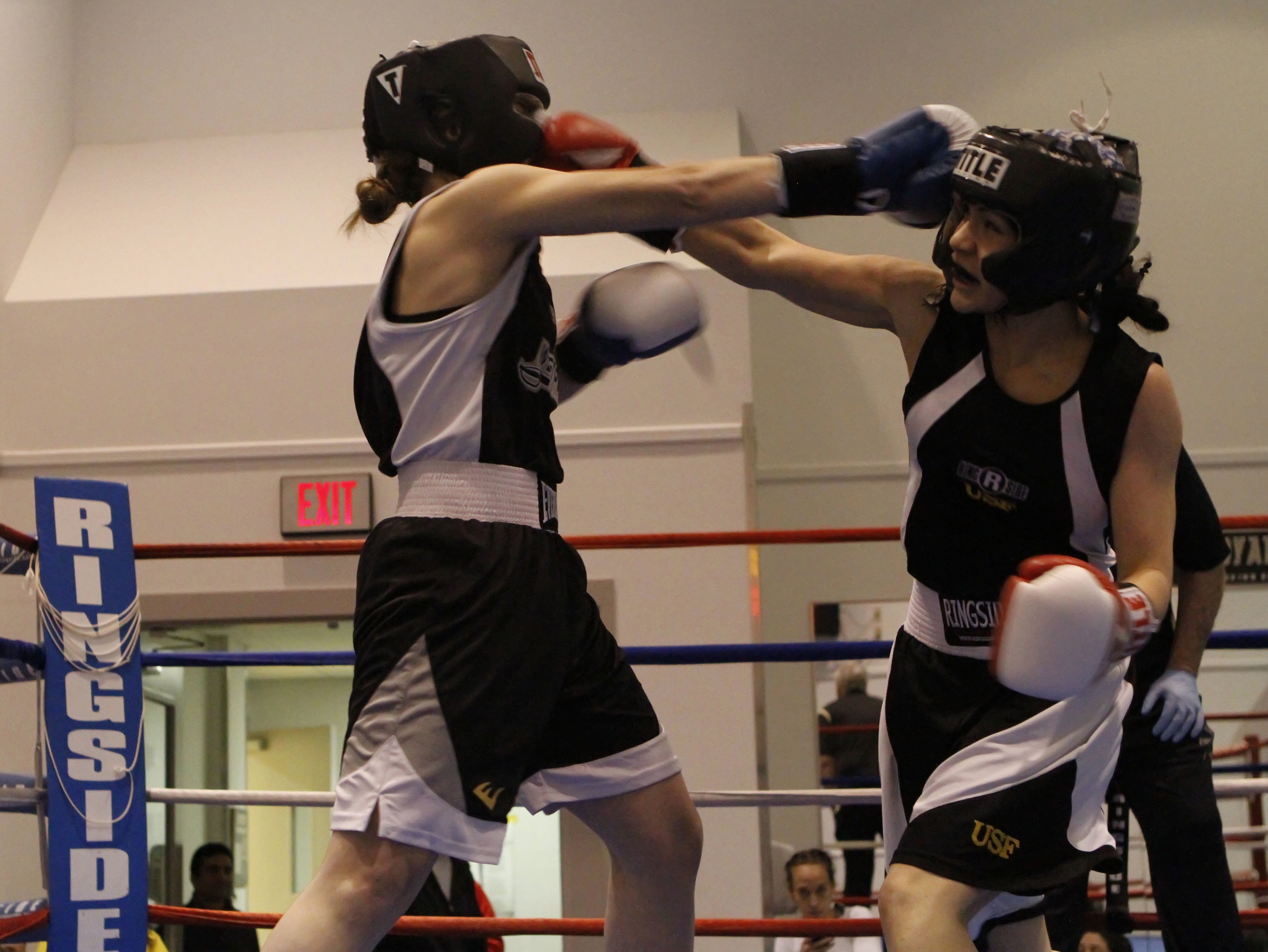Women S Boxing Storms Into West Point Article The