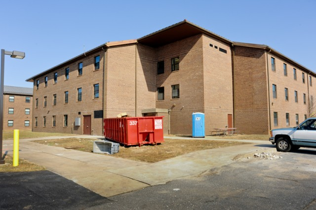 Renovations began on Building 4508, which was previously used for Soldier barracks, in January and are scheduled for completion by March 31. The APG STEM Education and Outreach Center will be ready in late May 2013.