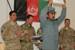 Afghan Police receive trainer's certifications