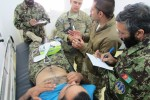 Afghans quickly learning medical procedures
