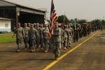 African, U.S. military forces join together to mark opening of Central Accord 13