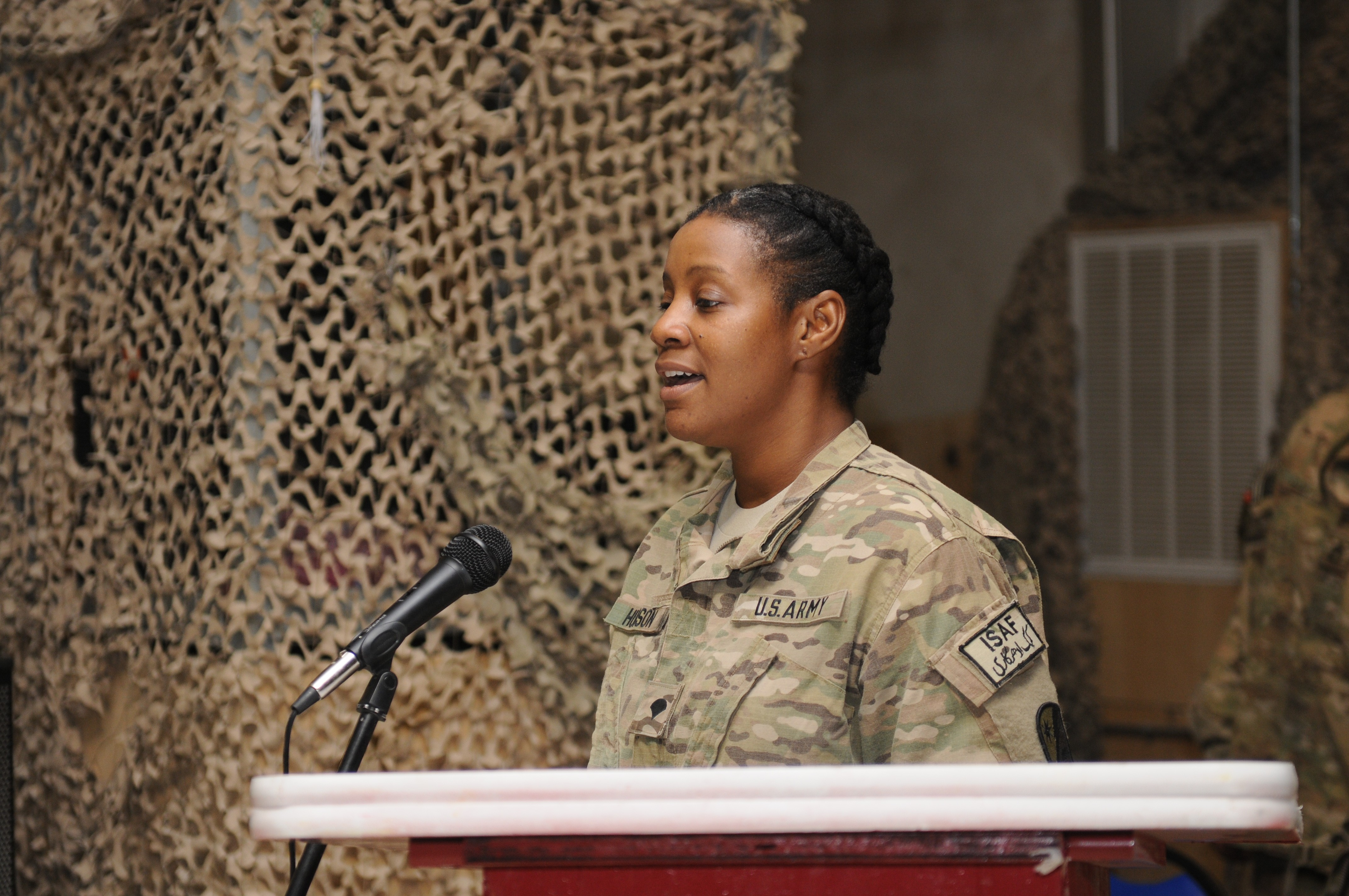 Regional Command-South celebrates black history month   Article