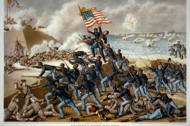 In February 1863, the United States raised its first Army regiment of black Soldiers during the Civil War.