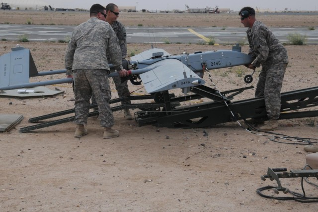 UAS Platoon trains to keep eye in sky
