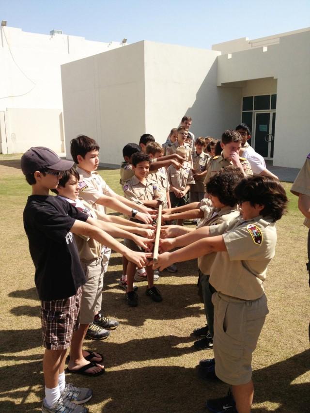 Military volunteers train tomorrows leaders today