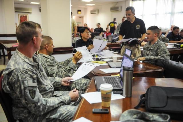 ITT Exelis teaches Incident Command System course
