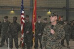Marine Corps Reserve logistics battalion welcomes new commander