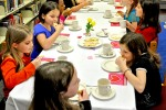 'American Girl' dolls inspire month library tea party