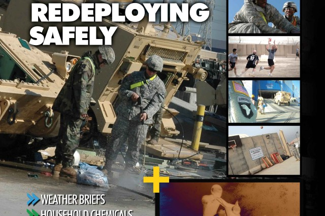 The March issue of Knowledge, our first online-only edition, is available to view and download on our website at  https://www.safety.army.mil/knowledge_online.   This month's issue focuses on redeployment safety, motorcycle riding proficiency, weather briefs, military eye protection, household chemical dangers and the safe use of vehicle jacks.