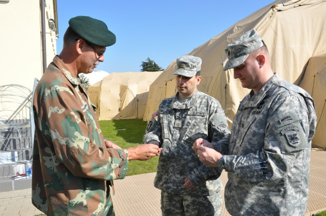 USARAF CCP trains with South African Forces