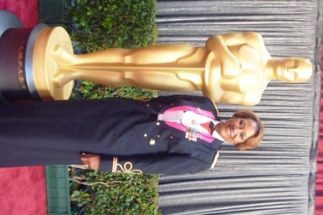Col. Martha Brooks and 'Oscar'