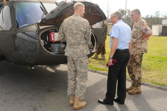 German Army Aviation chief visits Fort Rucker