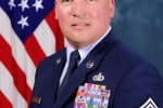 Command Chief Master Sgt. Mitchell Brush
