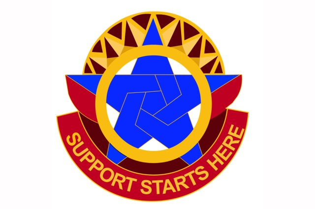 Combined Arms Support Command crest