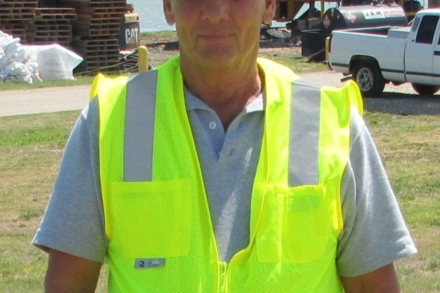 Robert Page, an employee of the Corps for more than 28 years, has held the position of the Brazos River Floodgates lockmaster since 2009, successfully juggling a variety of responsibilities ranging from supervisory and administrative tasks to maintenance and project rehabilitation.
