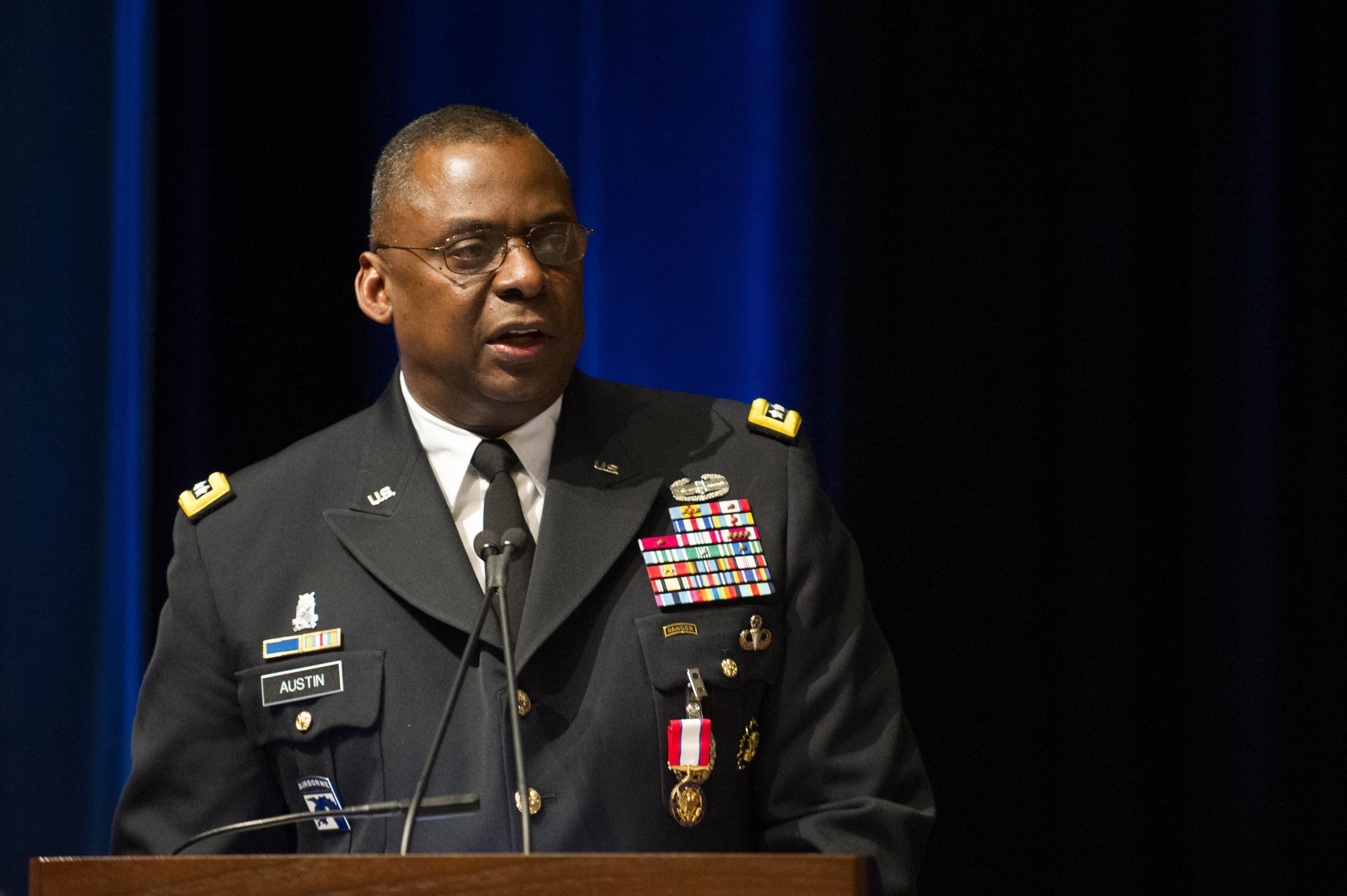 Farewell Ceremony In Honor Of Gen. LLoyd Austin