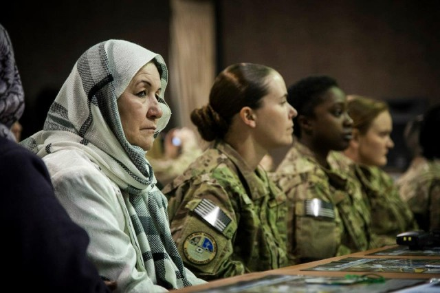 Afghan women honored for service to country
