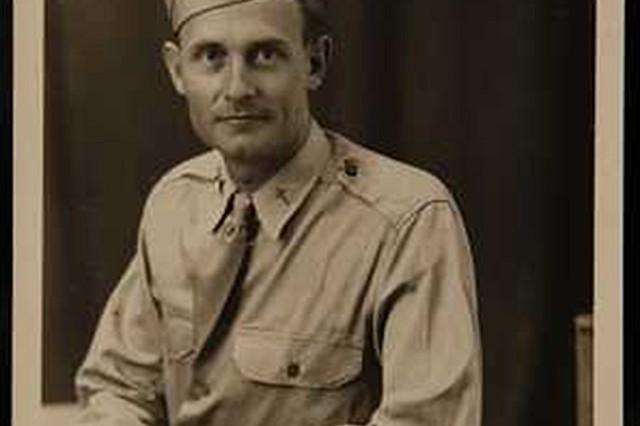 Photograph of Chaplain (Capt.) Emil Kapaun as a 1st. Lt.