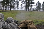 Field artillerymen learn infantry skills in squad live-fire exercise
