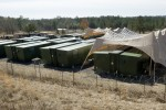 Rigid-wall camp saves money, fuel, water