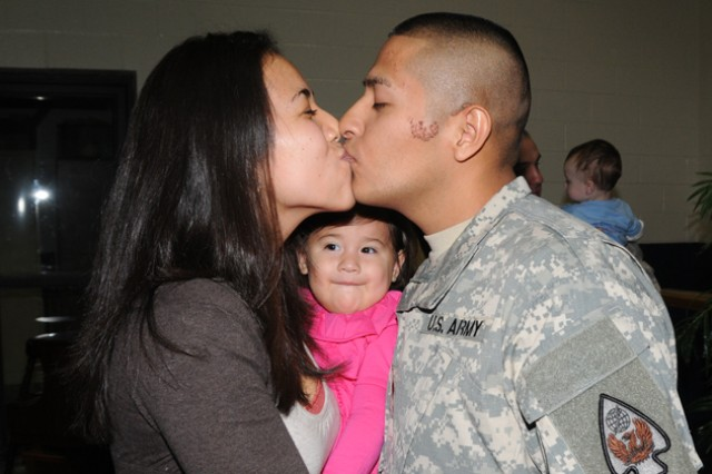 597th Co. returns home
