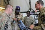 TACOM Armament LAR help 4th Brigade, 2nd Infantry Division Soldiers reset M249