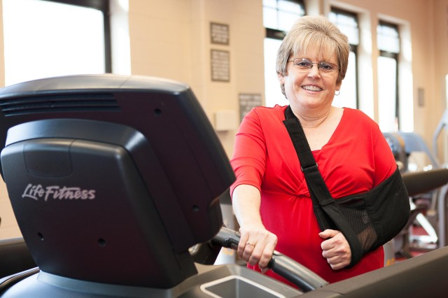 Staying alert at the gym is one way to stay safe when working out. Other tips include asking a trainer for help when using a new piece of equipment and making sure you're wearing proper workout attire. For more tips to stay safe while exercising, contact the Fort Myer Fitness Center.