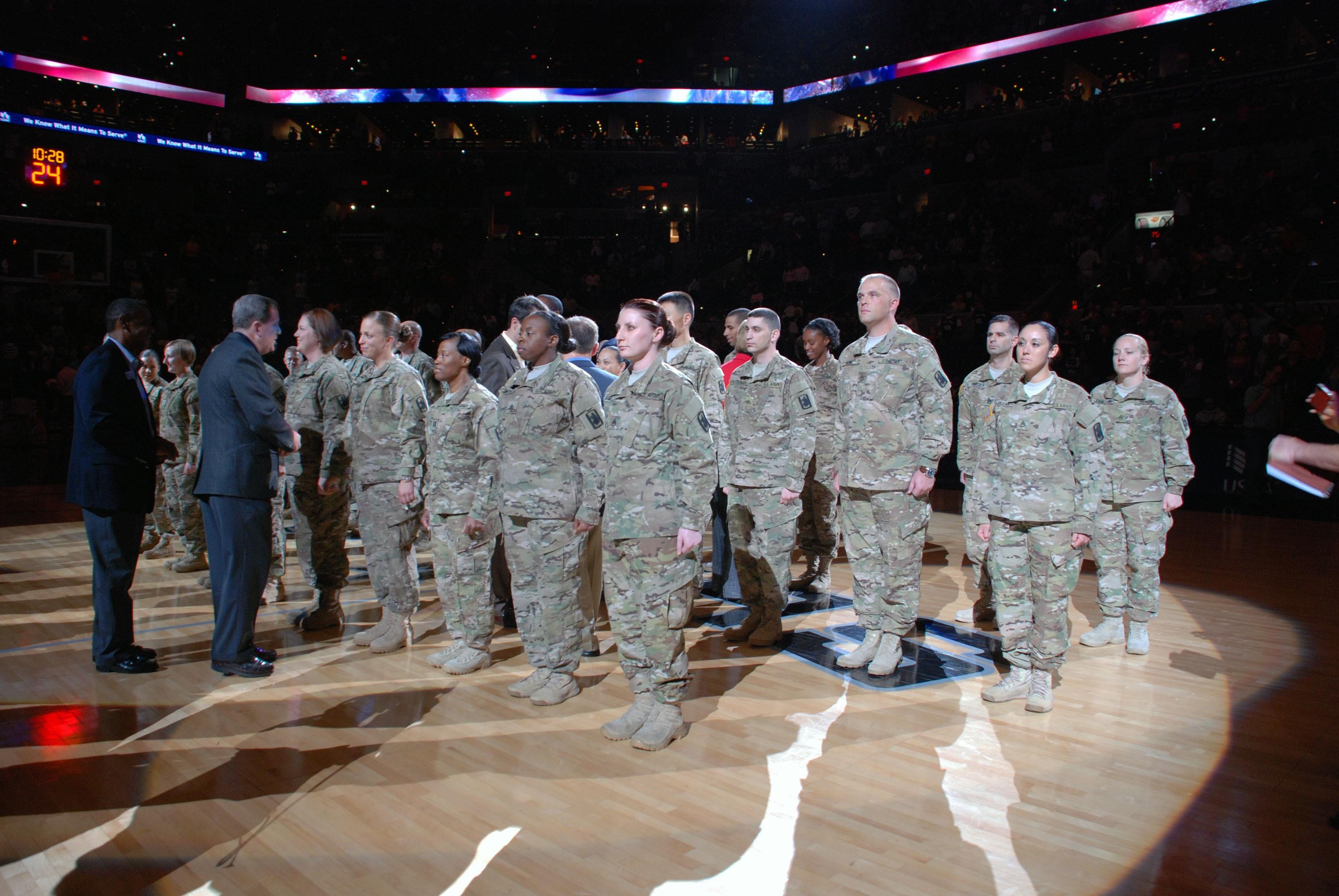 online store 93464 de4d3 Spurs share spotlight with two 470th MI Brigade battalions ...