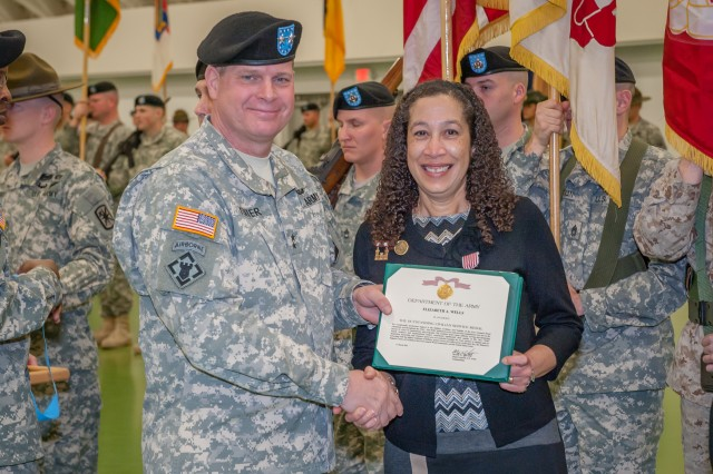 Fort Leonard Wood holds change of responsibility, retirement ceremony for top NCO